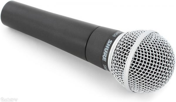 Microfon Shure SM58 original, profesional, cardioid, cu switch On/Off 0