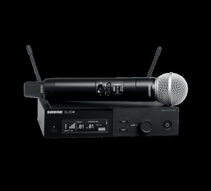Microfon wireless Shure SLXD24/SM58, original, receiver si microfon 0