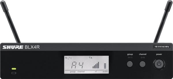 Sistem profesional wireless original Shure BLX24R/B58, microfon si receive 1