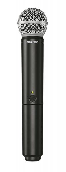 Sistem profesional wireless original Shure BLX24R/SM58, microfon si receiver 2