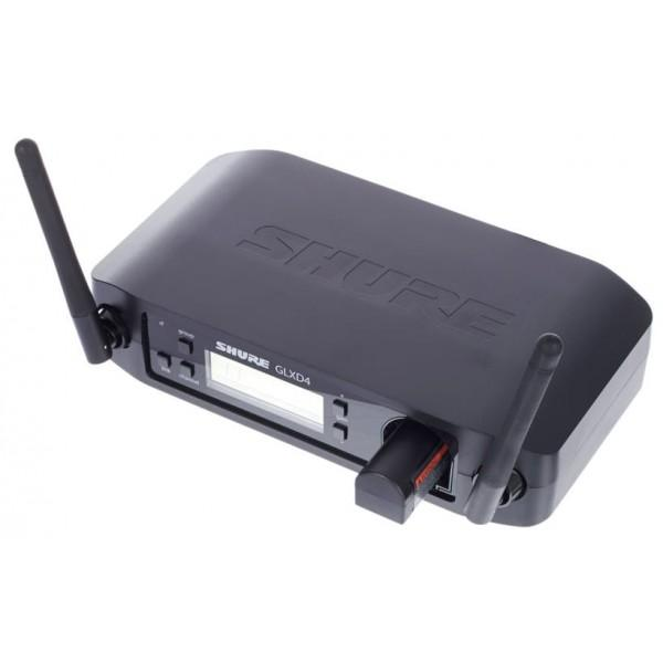 Microfon wireless Shure GLXD24R/B58, original, receiver si microfon 4