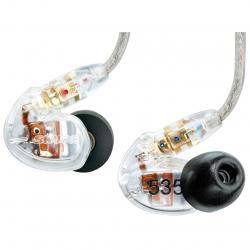 Casti profesionale in-ear Shure SE535-CL-E, cu 3 microdrivere HD si izolare fonica maxima0
