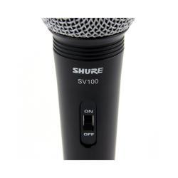 Microfon profesional cu fir Shure SV100-A, cardioid, utilizare multipla1
