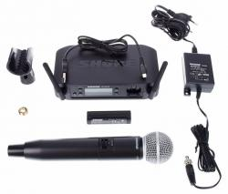 Microfon wireless Shure GLXD24/SM58 original, microfon si receiver3