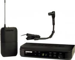 Microfon wireless Shure BLX14E/B98, de instrumente, microfon si receiver0
