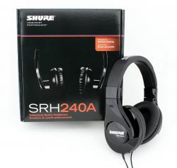 Casti profesionale Shure SRH240A, tehnologie closed-back, design circumaural3