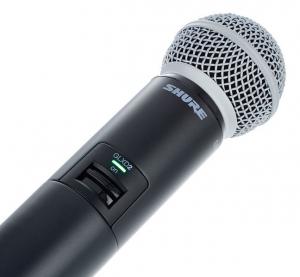 Microfon profesional original Shure GLXD24R/SM58, transmitter si receiver3