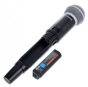 Microfon profesional original Shure GLXD24R/SM58, transmitter si receiver6