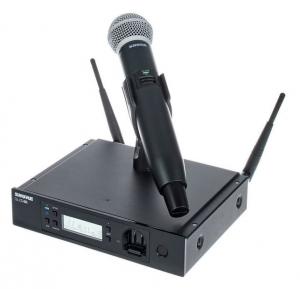 Microfon profesional original Shure GLXD24R/SM58, transmitter si receiver1