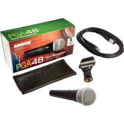 Microfon profesional dinamic cu fir Shure PGA 48, cardioid3