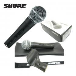 Microfon Shure SM58 original, profesional, cardioid, cu switch On/Off10