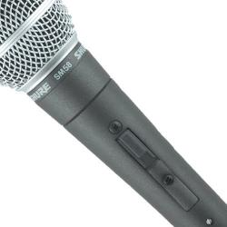 Microfon Shure SM58 original, profesional, cardioid, cu switch On/Off12
