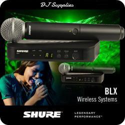 Microfon wireless Shure BLX24/SM58 original [1]