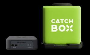 Microfon wireless CatchBox Plus, pentru conferinte de 1000 persoane, culoare verde [3]