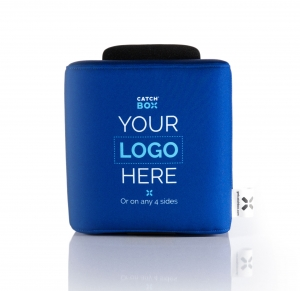 Microfon wireless CatchBox Lite, pentru conferinte de 100 persoane, culoare albastra [2]