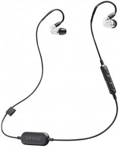 Casti profesionale in-ear Shure SE215-CL-BT1-EFS,  Bluetooth, Wireless, cu super izolare fonica, transparent6