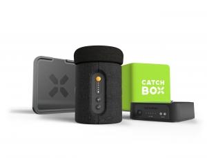 Microfon wireless CatchBox Plus, pentru conferinte de 1000 persoane, culoare verde [2]