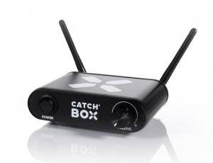 Microfon wireless CatchBox Lite, pentru conferinte de 100 persoane, culoare orange3