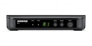 Sistem profesional wireless original Shure BLX24/PG58, microfon si receiver [1]