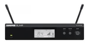 Sistem profesional wireless original Shure BLX24R/SM58, microfon si receiver3