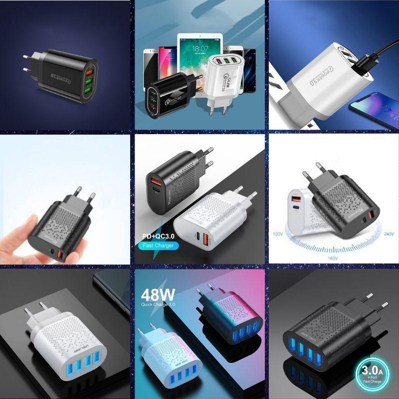 Incarcatoare Retea/Priza Fast Charge - USB 3.0 & USB Tip C