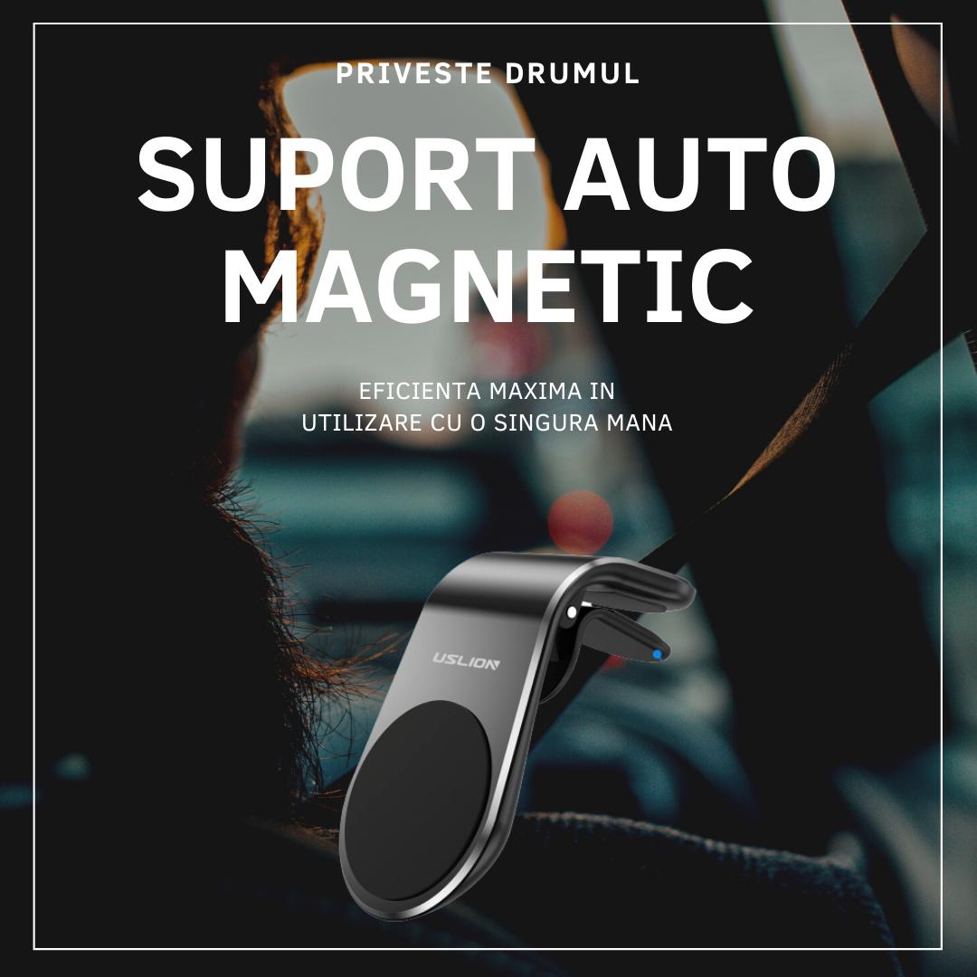 Suport Auto Magnetic NEODIM - Pentru Telefon sau Tableta