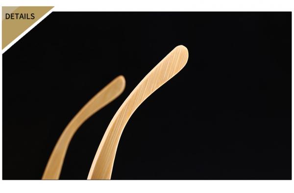Ochelari Soare cu Rame Bambus si Protectie UV400 - Unisex 4