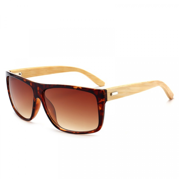 Ochelari Soare cu Rame Bambus si Protectie UV400 - Unisex [0]