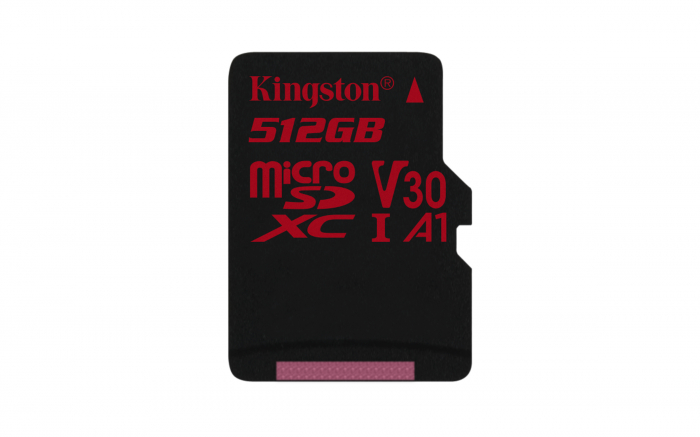 Card de Memorie Micro SD 512 GB, Compatibil Telefon, Tableta, Camera Foto si Video, Console Jocuri, Model Premium, Kingston [1]