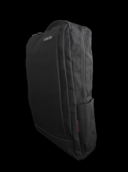Ghiozdan tip Rucsac Profesional pentru Laptop cu Mufa Smart USB si AUX cu Mufa Jack- 7 Compartimente - Negru 3