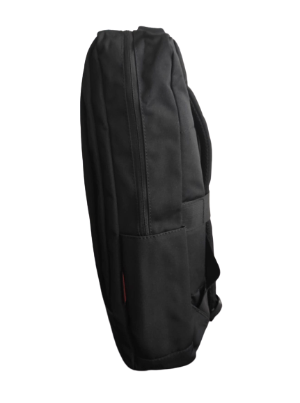 Ghiozdan tip Rucsac Profesional pentru Laptop cu Mufa Smart USB si AUX cu Mufa Jack- 7 Compartimente - Negru 2