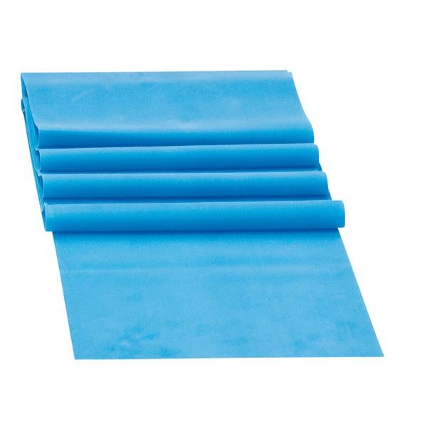 Banda Elastica de Rezistenta din Latex pentru Tonifiere Muschi Piept, Brate, Spate, Abdomen, Picioare, Albastru 9