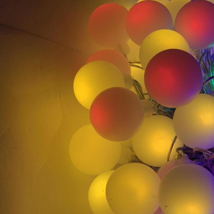 Instalatie Ghirlanda cu 20 de Becuri LED Color, RGB, Premium [3]