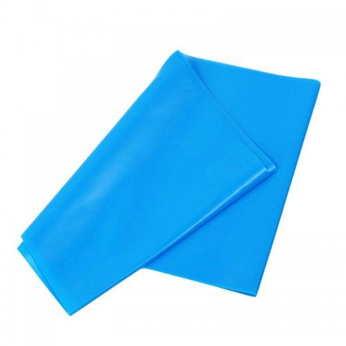 Banda Elastica de Rezistenta din Latex pentru Tonifiere Muschi Piept, Brate, Spate, Abdomen, Picioare, Albastru 10
