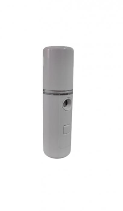Dispozitiv 3in1 Pulverizator, Sterilizator, Umidificator cu Abur, 30ml, de Buzunar, cu Acumulator si USB, Alb [1]