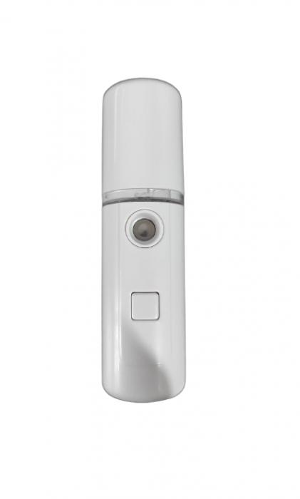 Dispozitiv 3in1 Pulverizator, Sterilizator, Umidificator cu Abur, 30ml, de Buzunar, cu Acumulator si USB, Alb [4]