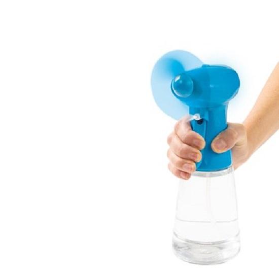 Ventilator de Mana cu Pulverizator de Apa, 350ml, Albastru [1]