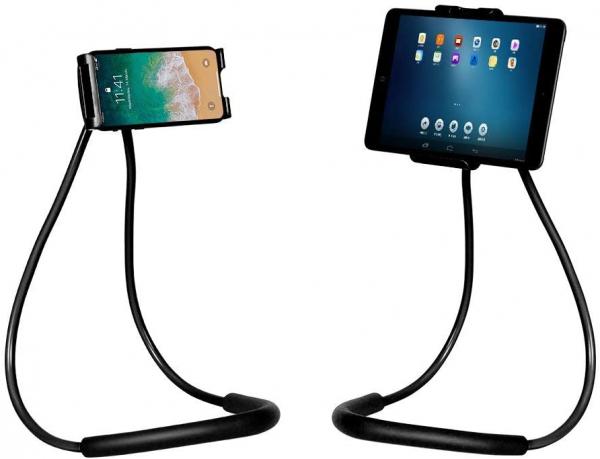 Suport Multifunctional Flexibil pentru Gat Reglabil compatibil Telefon sau Tableta Premium Vlog Universal 1