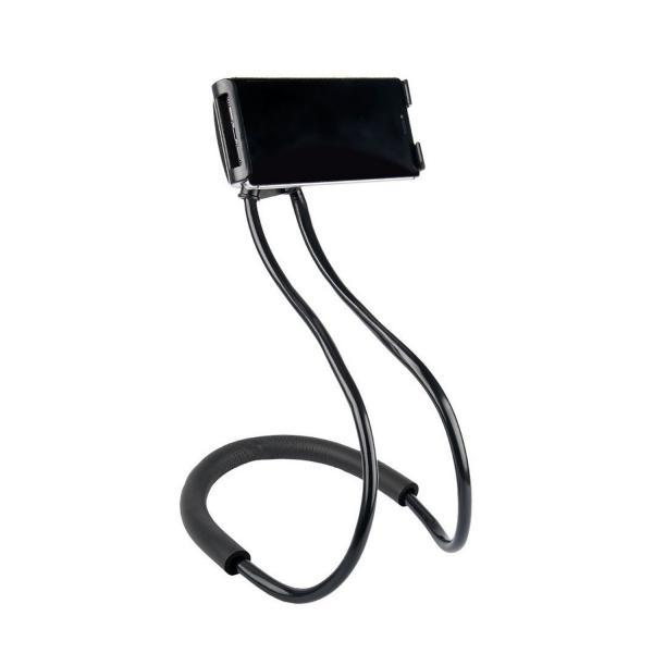 Suport Multifunctional Flexibil pentru Gat Reglabil compatibil Telefon sau Tableta Premium Vlog Universal 5