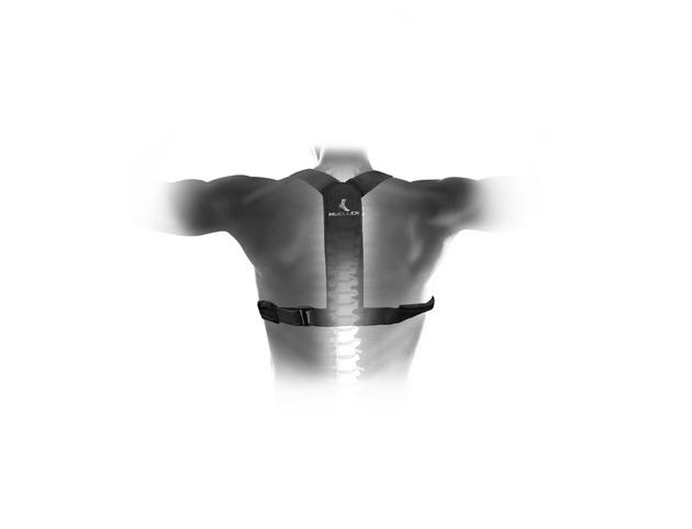 Suport de Sprijin pentru Spate si Corectarea Posturii si a Coloanei Vertebrale, Model Unisex Reglabil, Usor de Montat si  Purtat [4]
