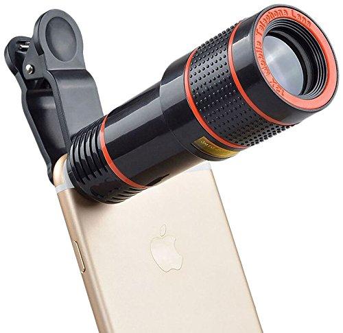 Telescop Lentila Optica Zoom 12x  Pentru Telefon Mobil sau Tableta  Obiectiv telefon Lentila Telefon  Fotografii  poze telefon 4