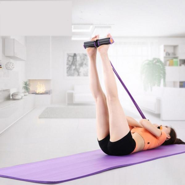 Aparat Extensor Fitness Multifunctional Premium, pentru Tonifiere Abdomen, Brate, Piept, Picioare, Ultra Portabil Elastic 1
