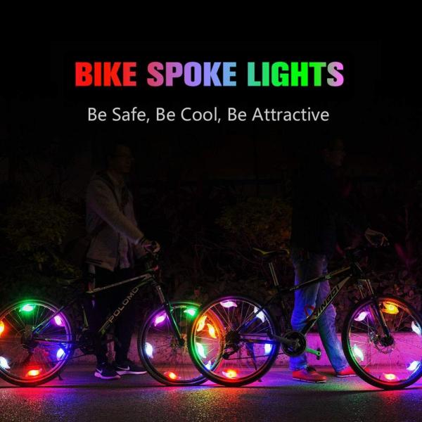 Dispozitiv LED pentru Spite Bicicleta 6