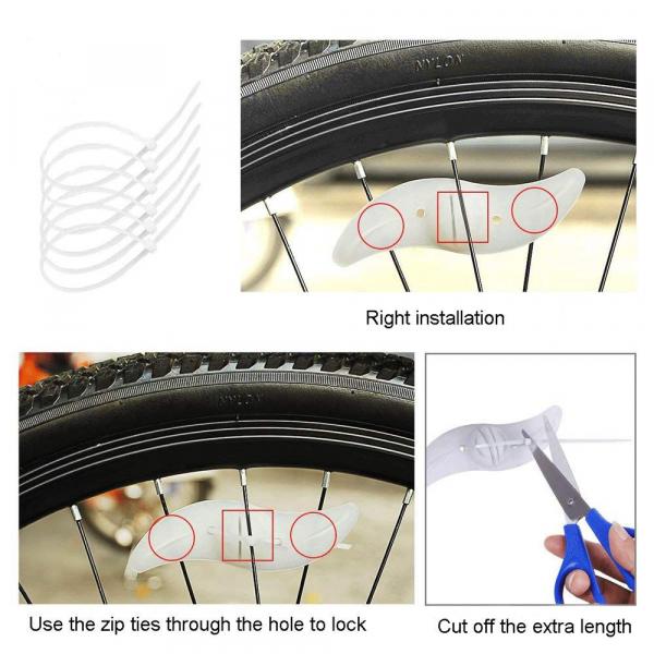 Dispozitiv LED pentru Spite Bicicleta 9