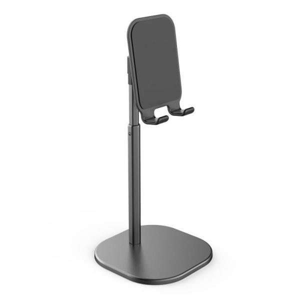 Suport Premium Metalic pentru Tableta sau Telefon cu Inaltime si Unghi de Vizualizare Reglabil - Negru 7