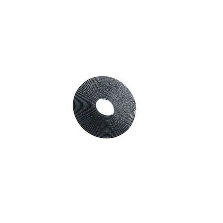 Banda Autocolanta cu Scai pentru Plase de Tantari, 4 Metri, Negru [0]