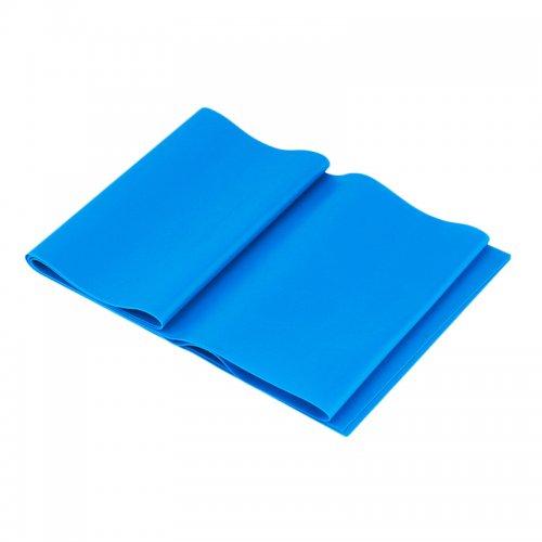 Banda Elastica de Rezistenta din Latex pentru Tonifiere Muschi Piept, Brate, Spate, Abdomen, Picioare, Albastru 11