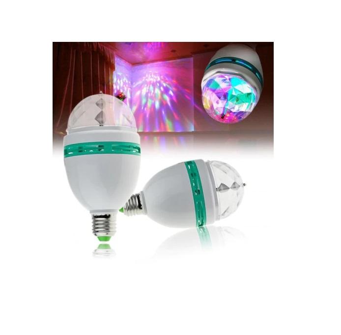 Bec cu Stroboscop Disco si 5 Lumini, pentru Petreceri [3]