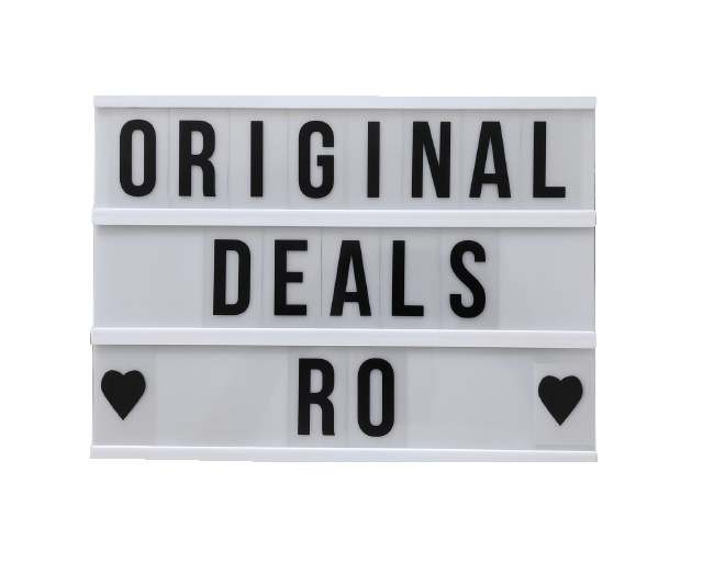 Caseta Luminoasa cu 100 de Litere, Cifre si Caractere Speciale, Personalizabila, cu 3 Baterii AA si Lumina Full LED, Premium, Original Deals [2]