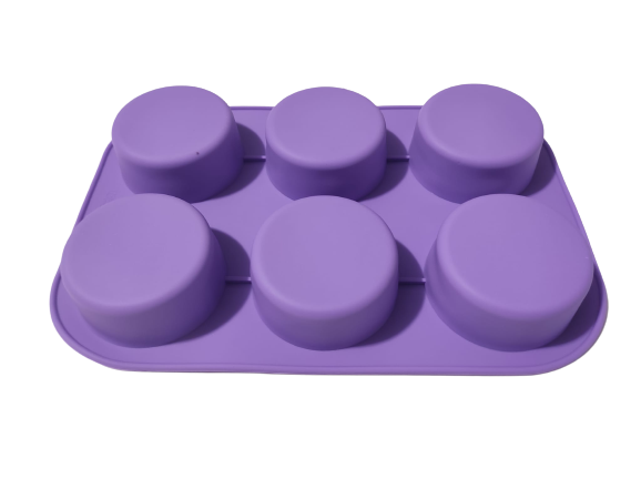 Forma pentru Briose si Prajituri din Silicon Non-Stick, Mov, Calitate Premium [2]
